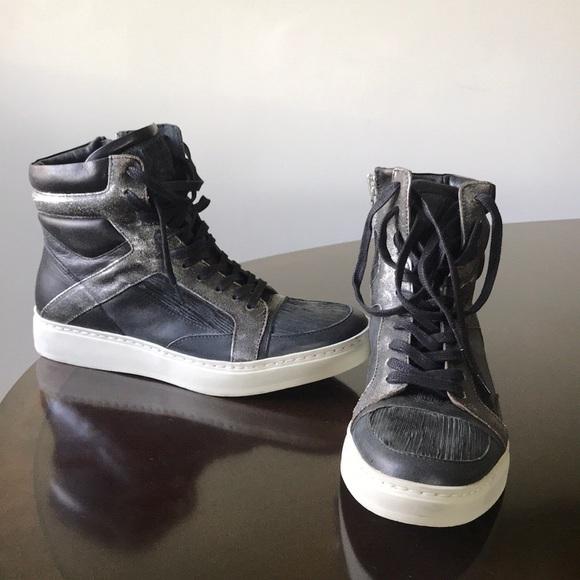 John Varvatos Shoes   Rustic Grayblack
